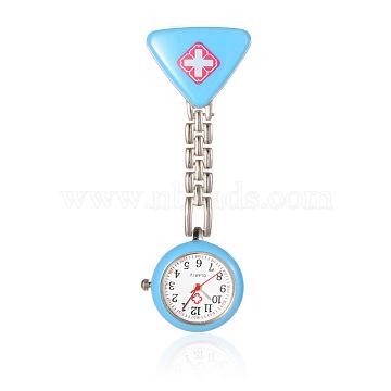 SkyBlue Alloy Quartz Watch