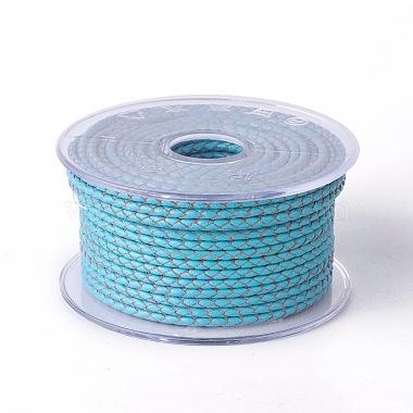 3mm DeepSkyBlue Cowhide Thread & Cord