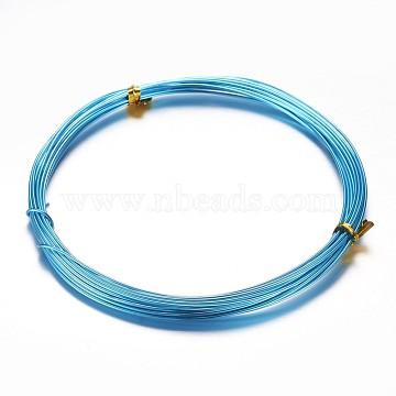 1mm DeepSkyBlue Aluminum Wire