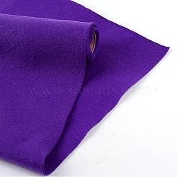 Feutre à l'aiguille de broderie de tissu non tissé pour l'artisanat de bricolage, mauve, 450x1.5~2 mm; environ 1 m/rouleau(DIY-R069-09)