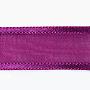 MediumVioletRed Polyester Ribbon(ORIB-Q024-25mm-34)