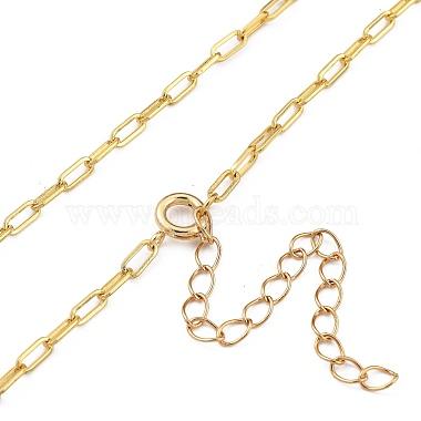 Love Knot Pendant Necklaces(NJEW-JN03007)-3