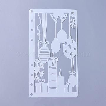 White Plastic Painting Stencils