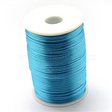 1.5mm DeepSkyBlue Polyacrylonitrile Fiber Thread & Cord