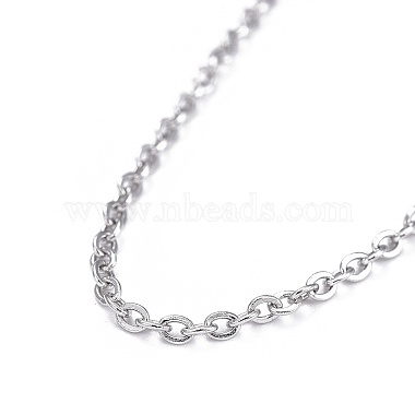 304 Stainless Steel Necklaces(NJEW-E080-13P-01)-2