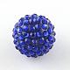 Transparent Resin Rhinestone Graduated Beads(RESI-S314-12x14-13)-1
