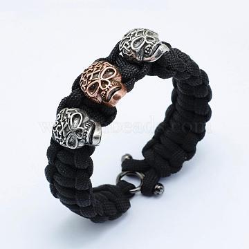 Black Nylon Bracelets