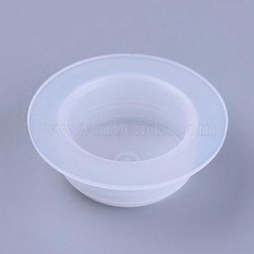 Plastic End Caps, Glue Dispensing Industrial Syringe Barrel End Cover, Clear, 23~33x10.5~11mm(TOOL-WH0103-08B-01)