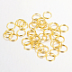 Iron Close but Unsoldered Jump Rings(X-IFIN-A018-8mm-01G-NF)-1