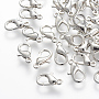 Platinum Others Alloy Lobster Claw Clasps(J0APX018)