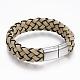 PU Leather Cord Bracelets(BJEW-F288-13P)-2