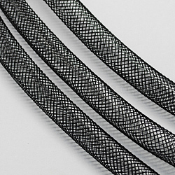 Filet en plastique, noir, 10mm, 30 mètres(PNT-Q003-10mm-16)