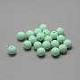 12mm PaleGreen Round Silicone Beads(X-SIL-R008B-38)