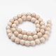 Natural Fossil Beads Strands(G-Q462-123-10mm)-2