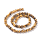 Natural Tiger Eye Round Bead Strands(G-L411-07-6mm)-4