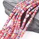Environmental Handmade Polymer Clay Beads(CLAY-R067-4.0mm-M1)-1