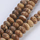 Natural Picture Jasper Beads Strands(G-P354-04-8x5mm)-1