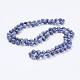 Natural Blue Spot Jasper Beaded Necklaces(NJEW-P202-36-A35)-1