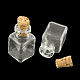 Cuboid Glass Bottle for Bead Containers(AJEW-R045-05)-1