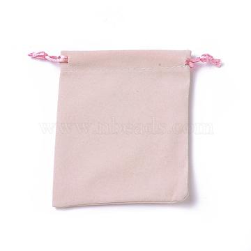 Pink Velvet Pouches