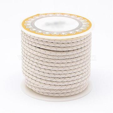 5mm White Leather Thread & Cord