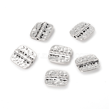 16mm Rectangle Alloy Beads