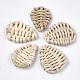 Handmade Reed Cane/Rattan Woven Beads(WOVE-T006-018)-1