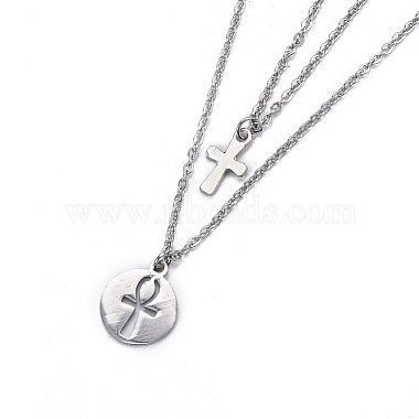 304 Stainless Steel Tiered Necklaces(X-NJEW-JN02350-02)-3