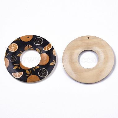 Fruit Seris Printed Wood Pendants(WOOD-S045-105A)-2