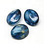 Marine Blue Others Acrylic Beads(X-MACR-Q169-29)