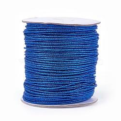 Cordon de polyester, bleu royal, 2 mm; 100 yards / rouleau (300 pieds / rouleau)(OCOR-E017-01A-16)