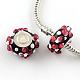 Handmade Lampwork European Rondelle Beads(LPDL-R005-11)-1