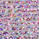 Glitter Hotfix Glass Rhinestone(RB-T012-16B)-4