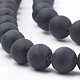 Natural Obsidian Beads Strands(X-G-T106-001A)-2