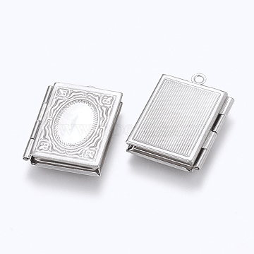 Stainless Steel Color Rectangle Stainless Steel Pendants