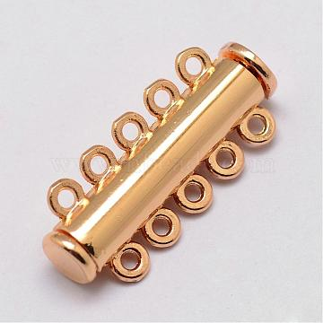 Light Gold Alloy Clasps