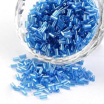 5mm DeepSkyBlue Glass Beads