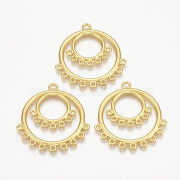 Matte Golden Ring Alloy Links