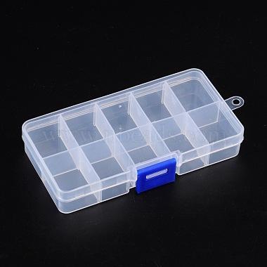 Plastic Clear Beads Display Storage Case Box(X-C006Y)-2