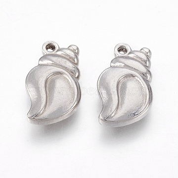 Stainless Steel Color Shell Stainless Steel Pendants