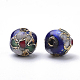 Handmade Cloisonne Beads(X-CLB8mm-M)-2