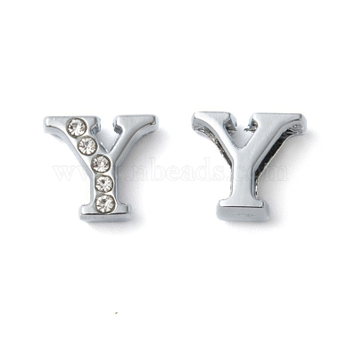 Platinum Alloy + Rhinestone Charms